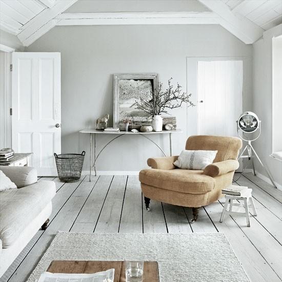 Interior White Floors