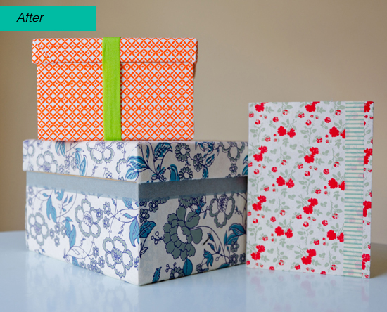 Craft Handmade Paperchase Boxes Notebook